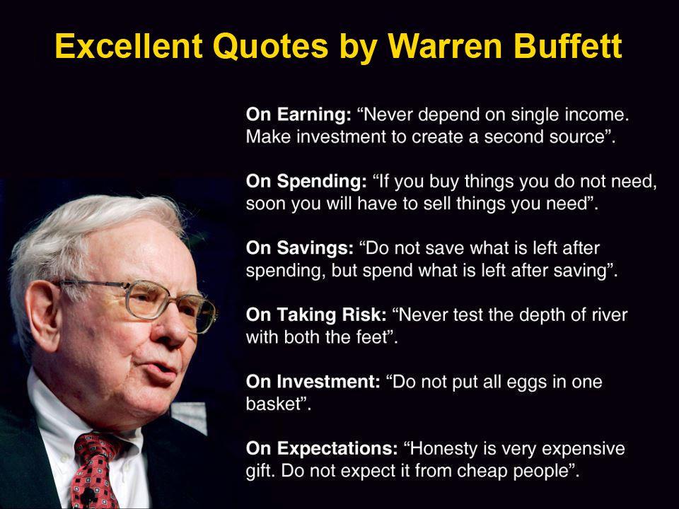 แนวคิดทางการเงิน Warren Buffett